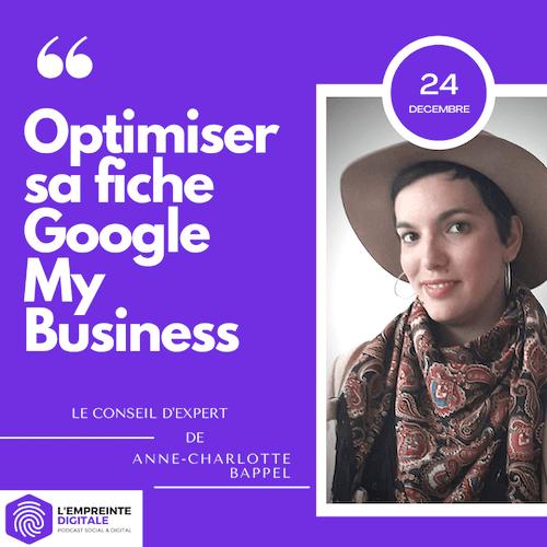 Conseil #24 : Optimiser sa fiche Google My Business