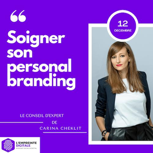 Conseil #12 : Soigner son personal branding