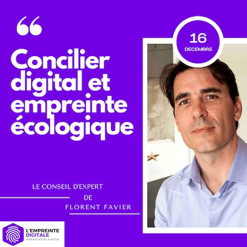 Conseil #16 : Concilier digital et empreinte écologique