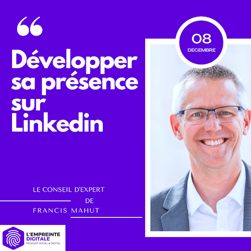 Conseil #8 : Developper sa présence sur Linkedin
