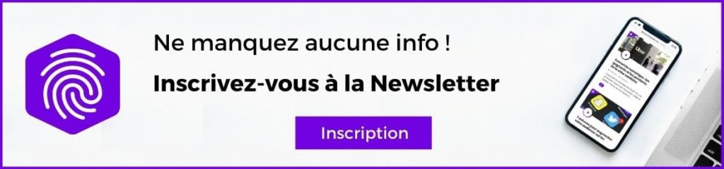 inscription newsletter l'empreinte digitale
