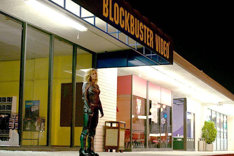captain marvel magasin blockbuster