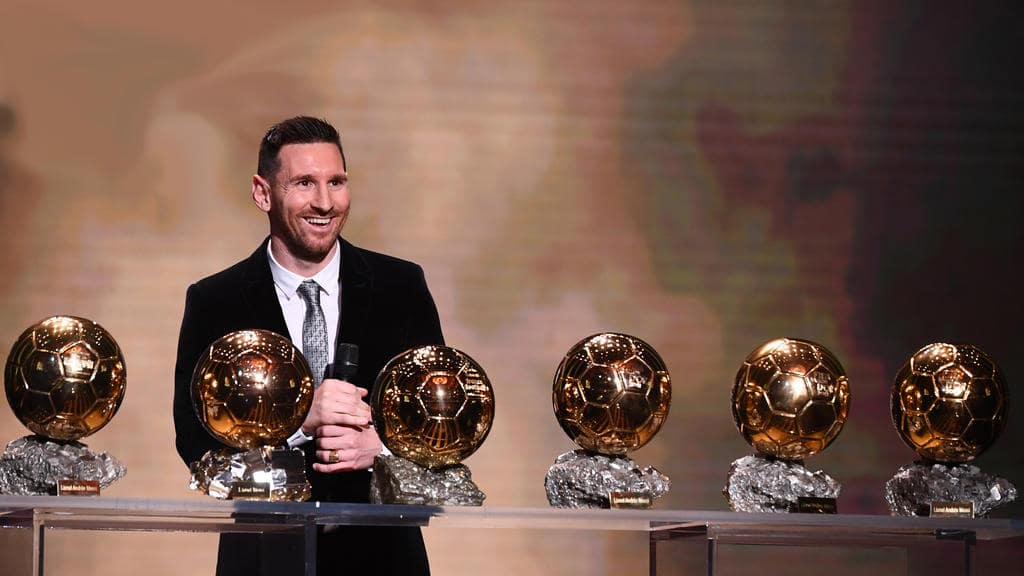 lionel messi instagram 6 ballons or