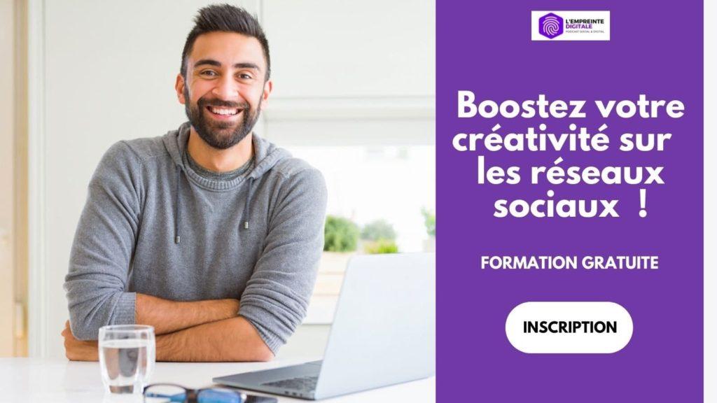 formation gratuite animation gestion reseaux sociaux community management manager
